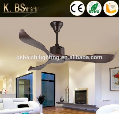 Contemporary Good Balance Remote Control DC Modern Ceiling Fan Without Light