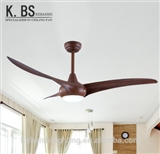 American Modern Air Cooling Celing Fan Living Room Ceiling Fan With LED Light
