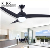 High Quality Multi-Function 52Inch Led 18W Two Colors Ceiling Fan With Light