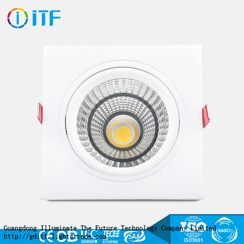 factory direct 3 5 7 10 12 15 20W COB ceiling LED spot light for indoor
