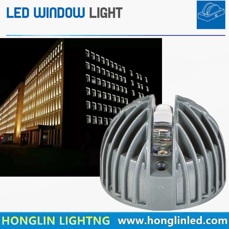 New Product 180 Degree 9W LED Window Light for Hotel Window Hallway Passage Parking Gallery