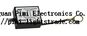 Constant voltage input and constant current output LED touch dimmer driver