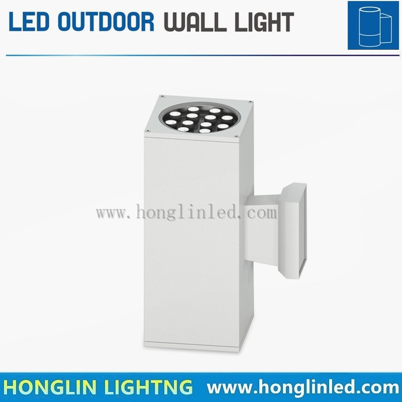 Outdoor Lighting Intiground 24W LED Outdoor Wall Light