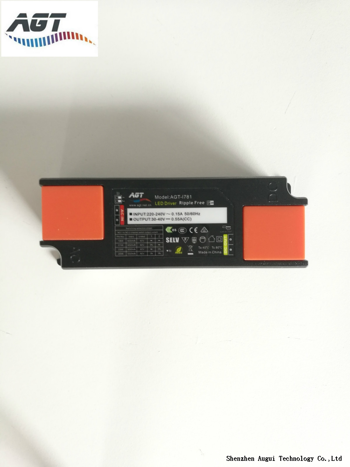 10-15W Small size flicker free high efficiency led driver with 5 years warranty
