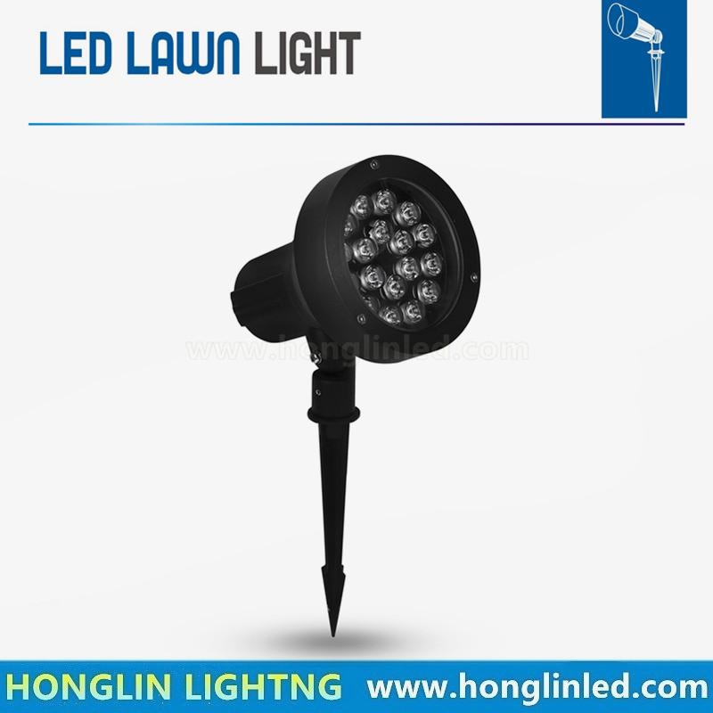 Outdoor Garden LED Light 15W LED Lawn Spike Light Pond Path Spot Light Waterproof Bulbs