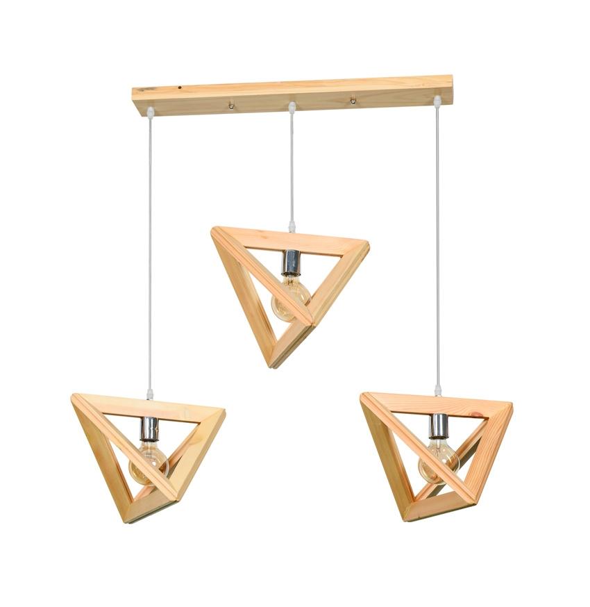 Modern Design Wooden Pendant Light No.0828-3 Suoling Lighting