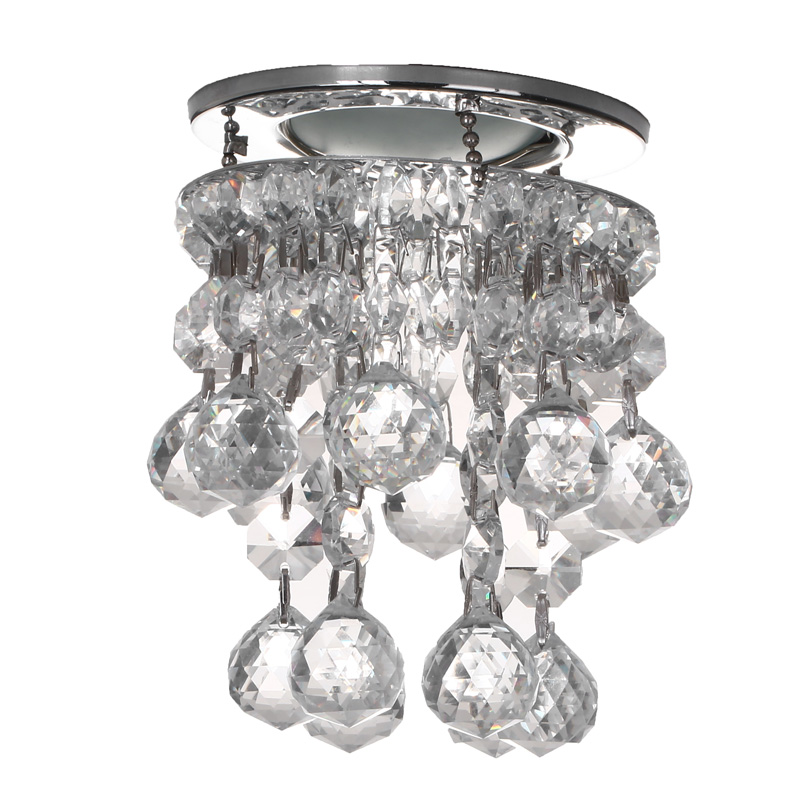 Pujiang sale crystal downlight craft ceiling light