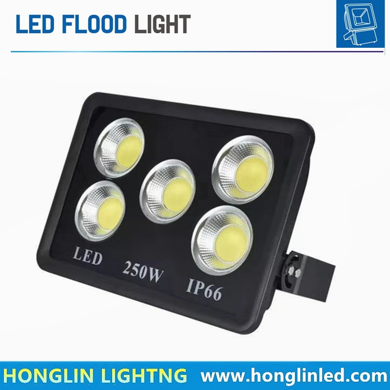 High Power Outdoor Landscape LED Flood Light 250W with CE RoHS
