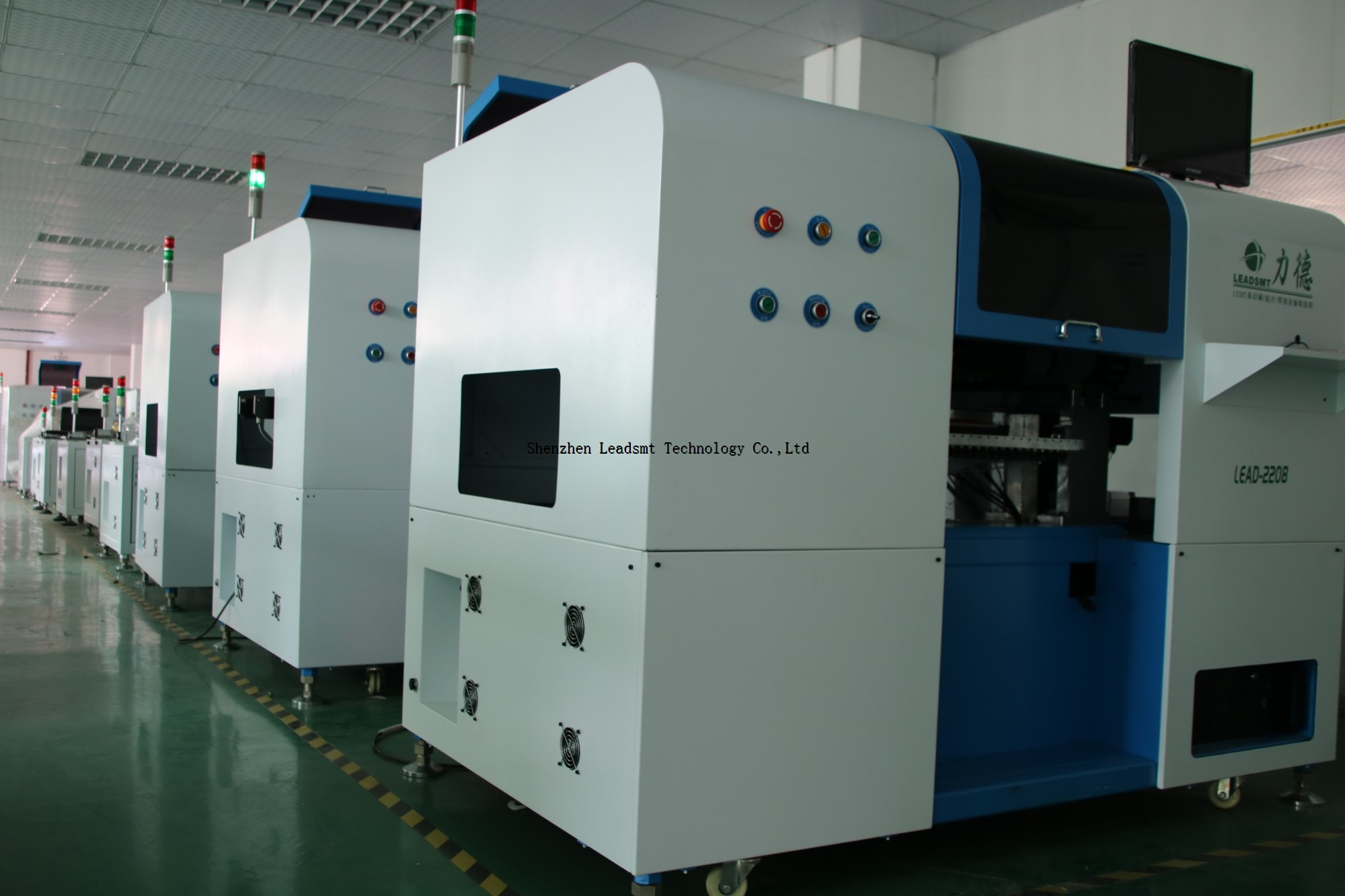 Led SMD PCB Mounting Machine for led pick and place work