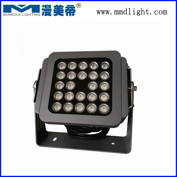 LED Outdoor Waterproof Square Led Wall Washer 24*3W monochrome
