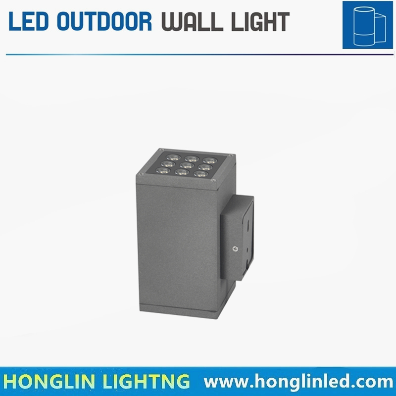 High Quality LED Lighting Landscape IP65 Outdoor 12W LED Wall Light