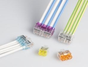 Push-in Wire Connectors AWG 22-12 PC35X series
