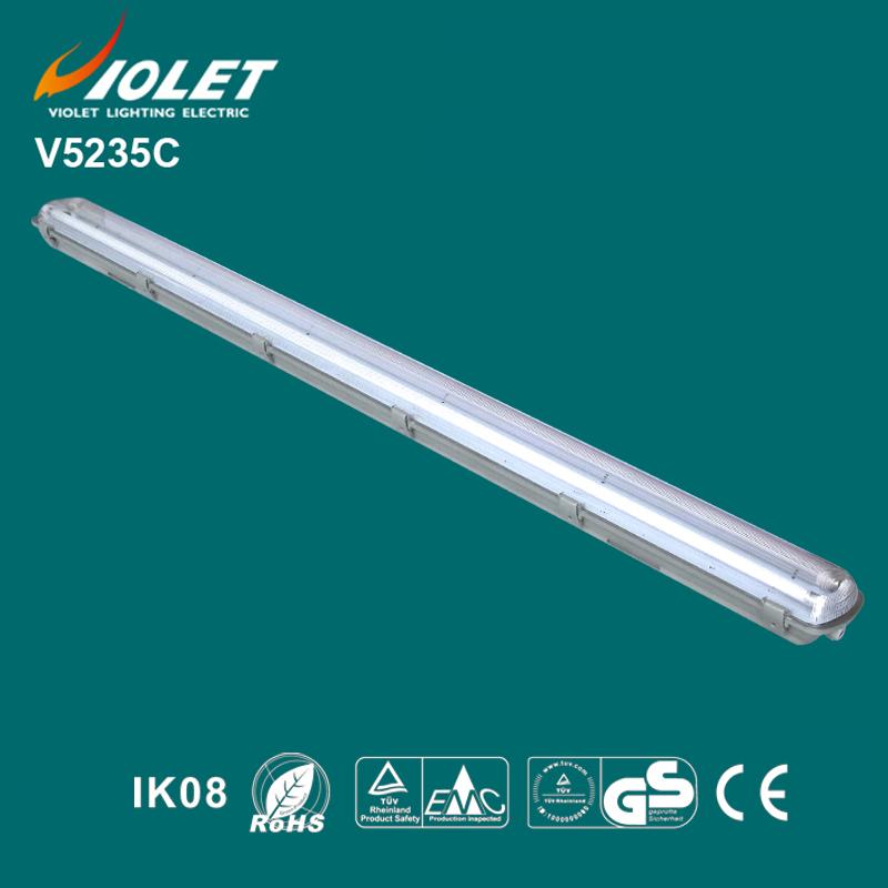 IP65 Waterproof Lighting Fixture 2x35W T5 Lamp Tube hermetic lamp