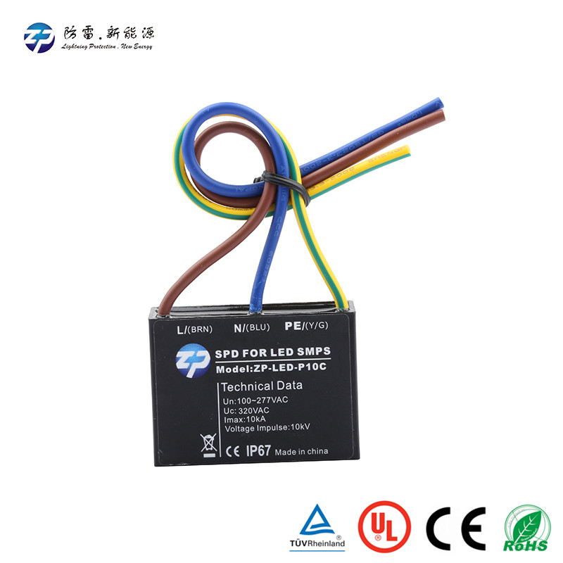 LED surge protector device with price trade assurance