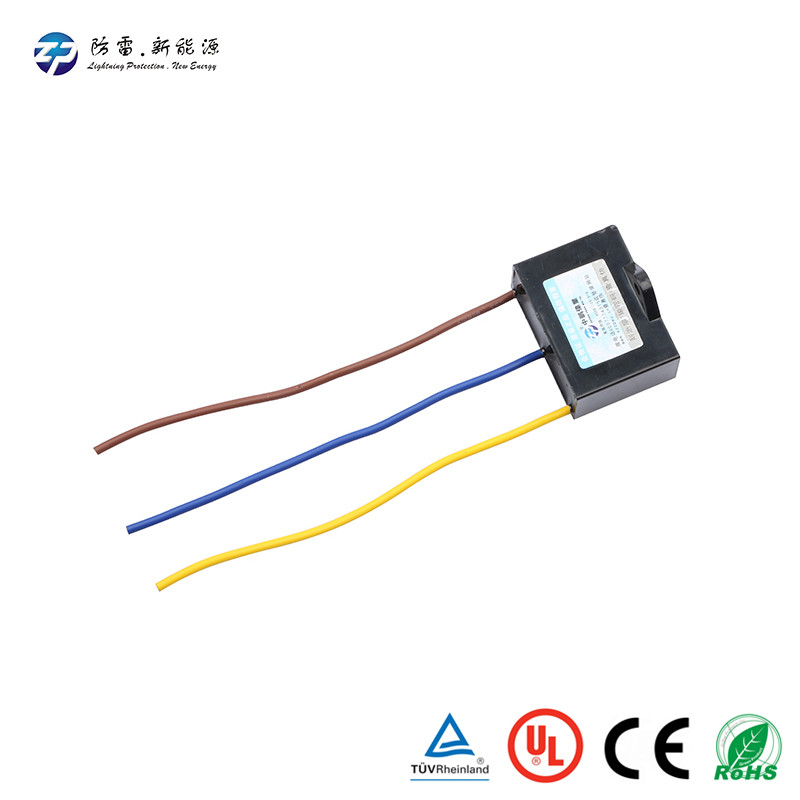 New design LED street light surge protector device