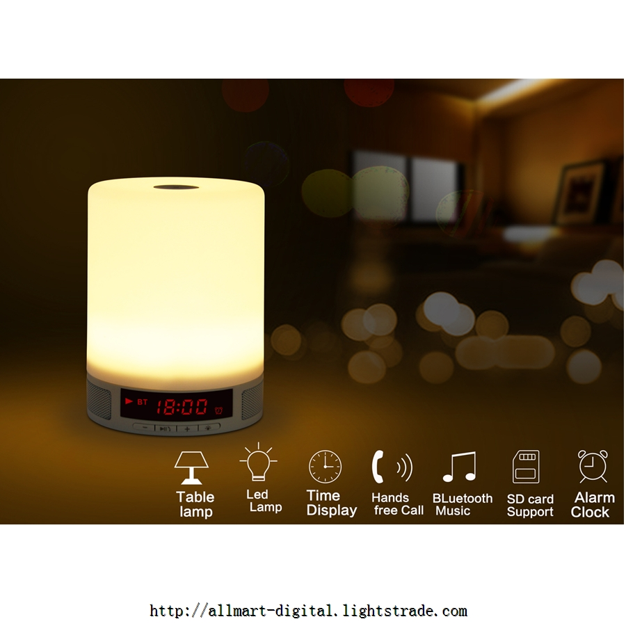 Bluetooth portable speakers with smart lamp