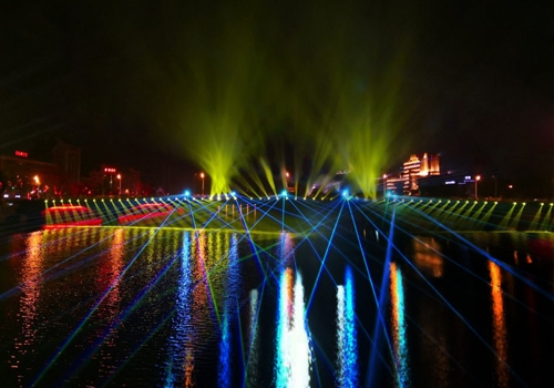 10W laser light RGB for building stage theater tourist attraction etc