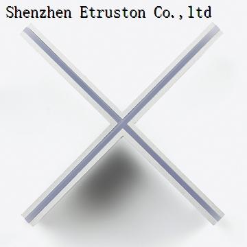 Slim groove light RGB 24V 3014 led strip for architectrual lighting