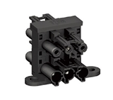 EPD014 20A 250V 1 IN 3 OUT 3P BLACK