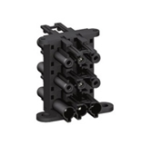 EPE014 20A 250V 1 IN 5 OUT 3P BLACK