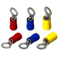 PVC or Nylon Insulated Ring Terminal