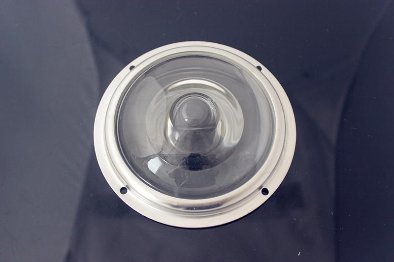 100mm diameter 150 degree glass lenses for high bay