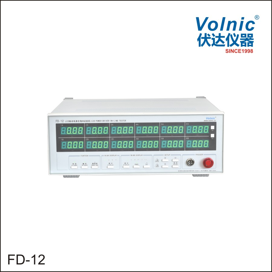FD-12 LED DRIVER ON-LINE TESTER