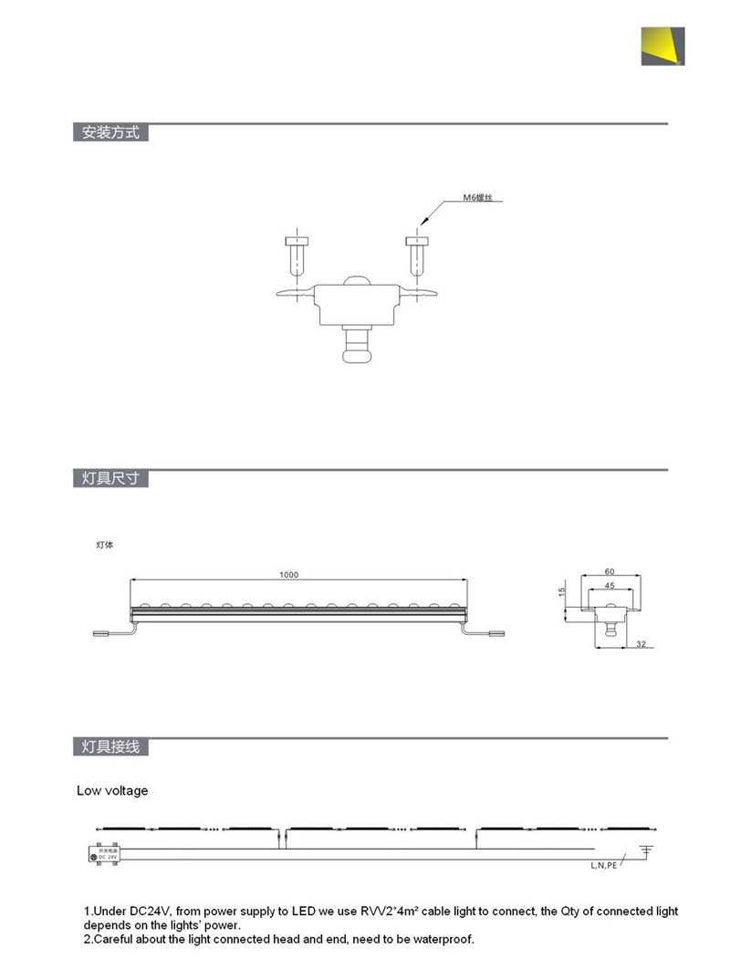 Wall Mounted 12w Led Linear Light Recessed With Wire Wiring Faq