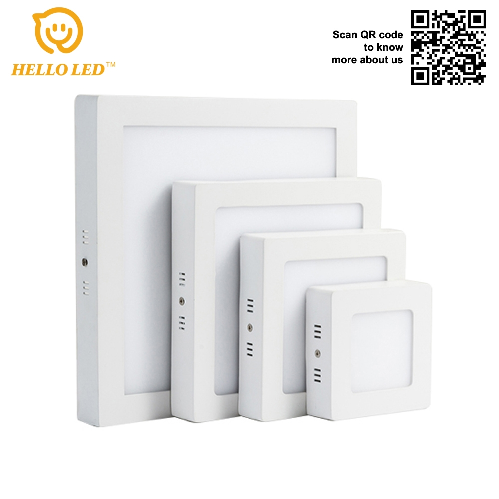 NH-83012 12w High brightness surface square panel lamp for home