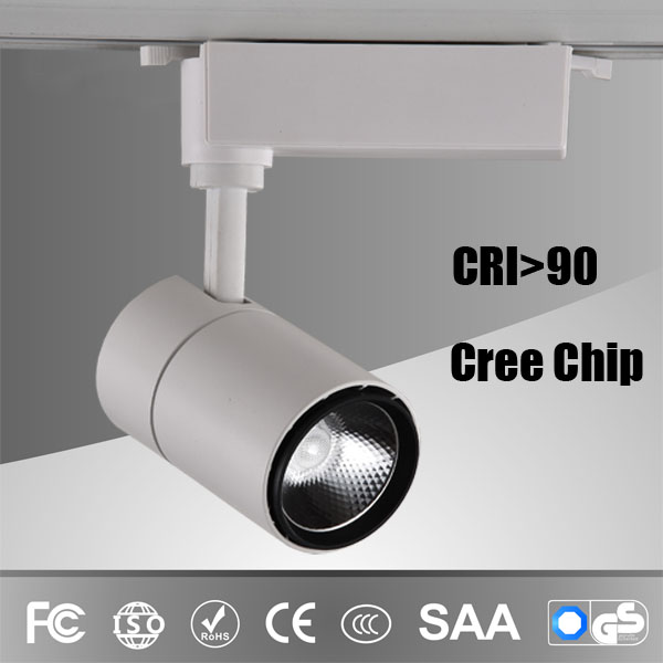 Led track light for commercial application 10W 20W 30W