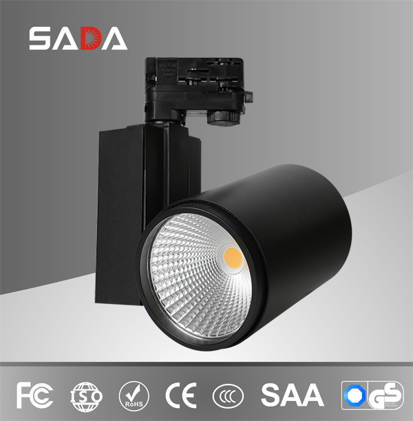 40W project led track light