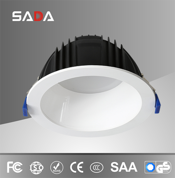 Deep anti-glare high cri die casting aluminum smd downlight