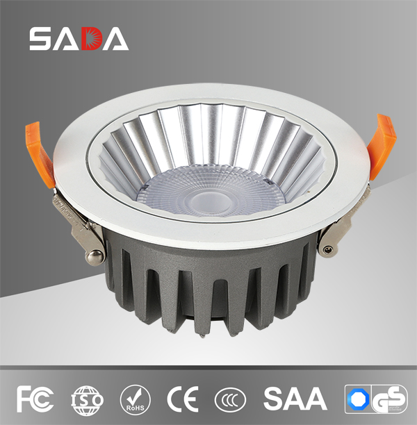 IP44 54 Project die casting aluminum cob downlight