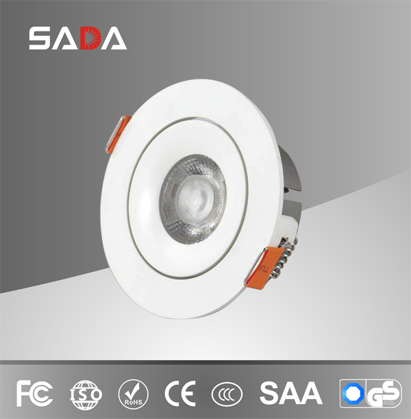 Slim design aluminum new cob spot light