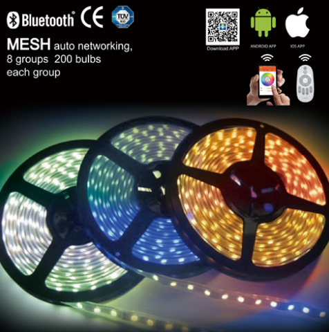 Bluetooth RGB light strip