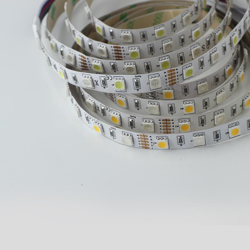 Decorative lighting Flexible DC 12V or 24V 5050 60 led per meter RGBW led strip lights