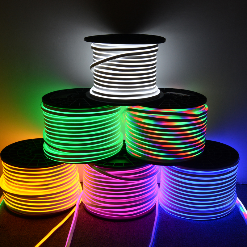 12V 24V SMD2835 120LED Per meter waterproof decoration LED neon flex light