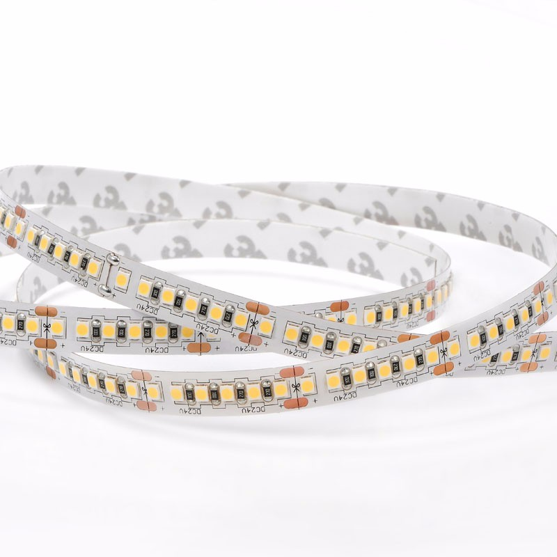 High quality Smd2835 high lumen 192led 24v led strip light