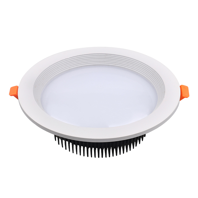 Recessed 3W 5W 7W 9W 12W 15W 18W painted LED downlight