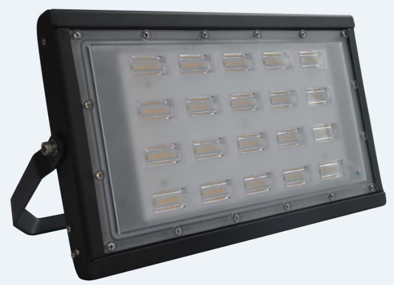 Slimline Special Unique PC lens IK10 IP65 Waterproof Outdoor LED Flood Lights for Projects 100-200W