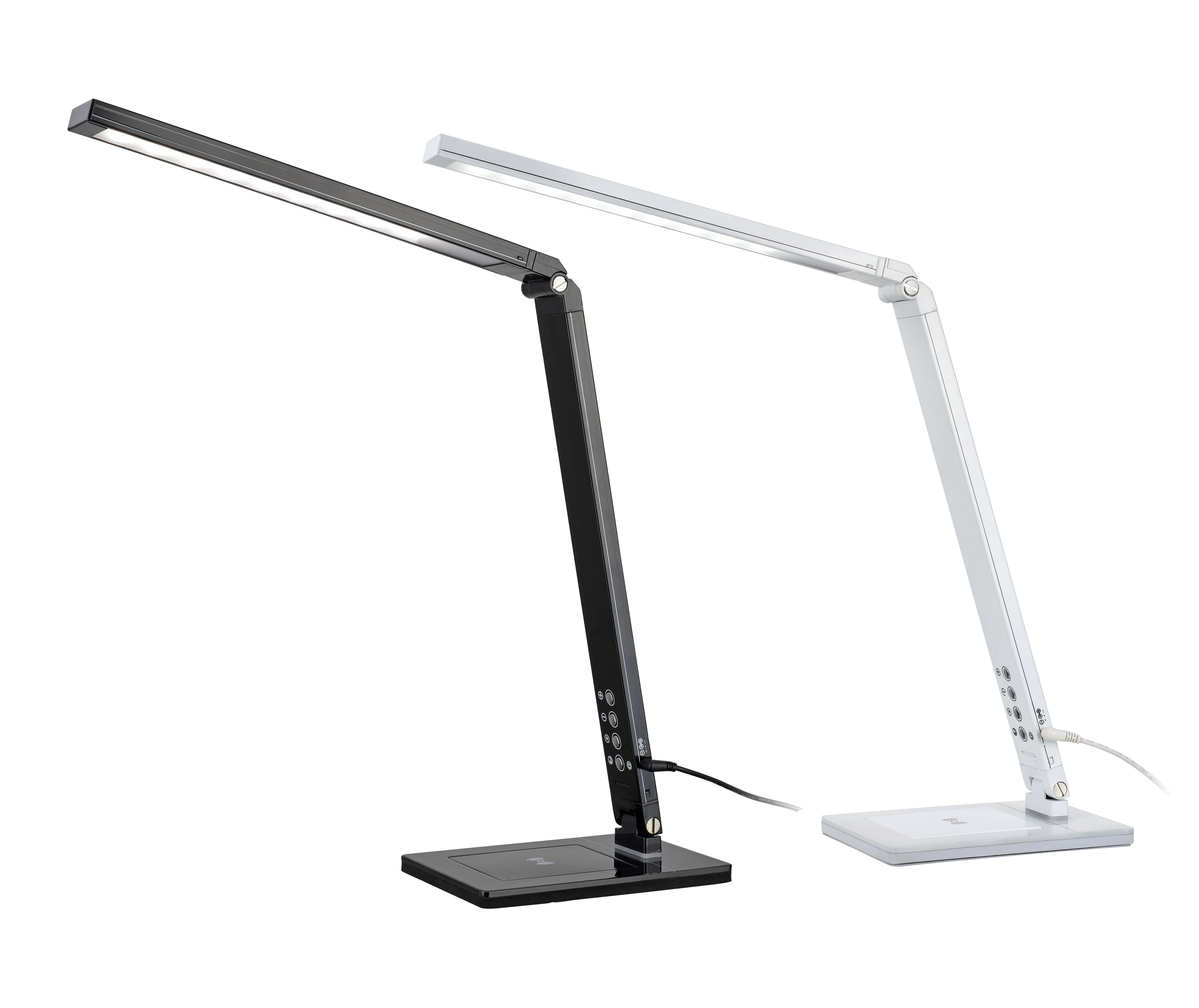 Folding wireless charging desk lamp