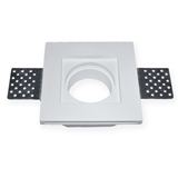 Gesso lamp gypsum downlight plaster ceiling lighting with GU10