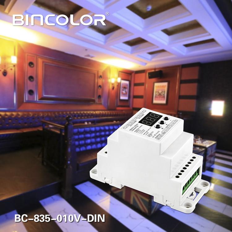 DMX512 DIN 0-10V Decoder