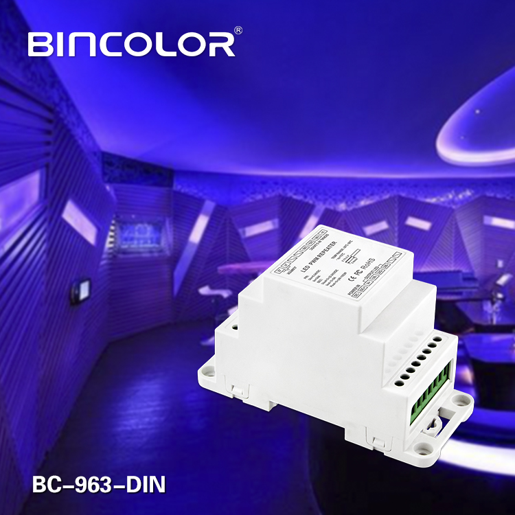 LED PWM repeater DIN
