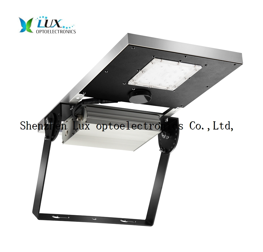 solar LED all in one flood light
