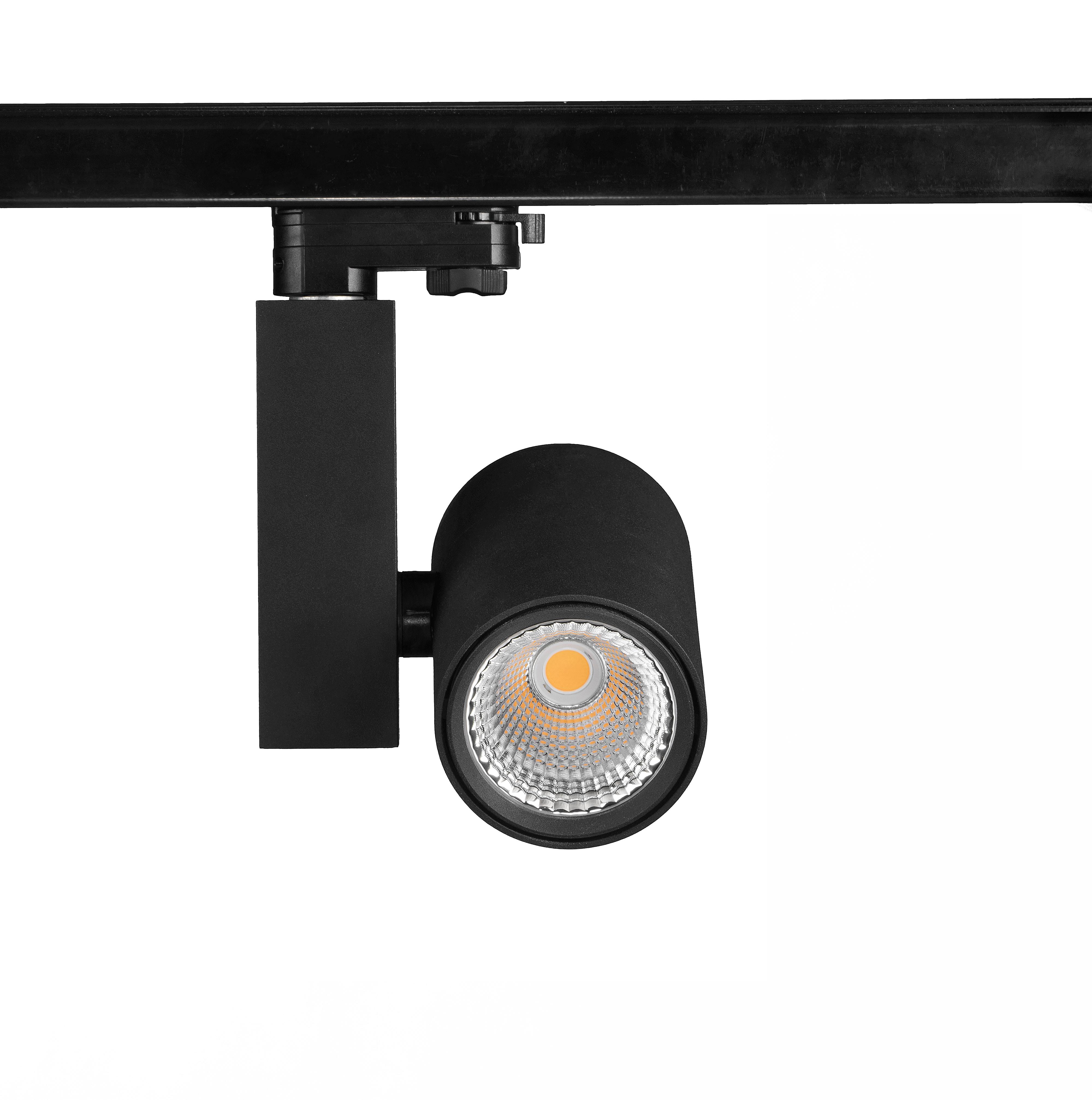30W LED track light 3000-6000K 80CRI