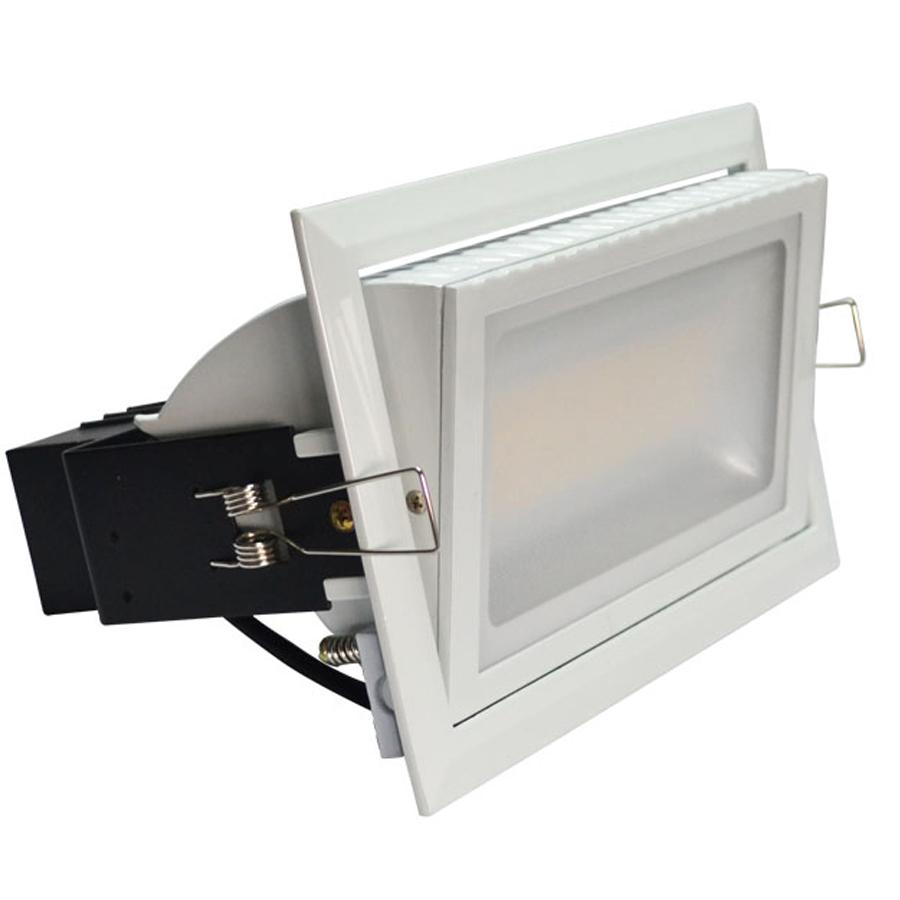 High power led panel lights ceiling down light 38w SMD LED Rectangular downlight