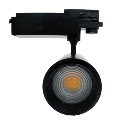 Zoomable series track lighting