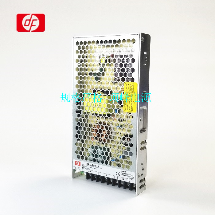 Slim indoor industrial model DRS-12V200W 8.3A