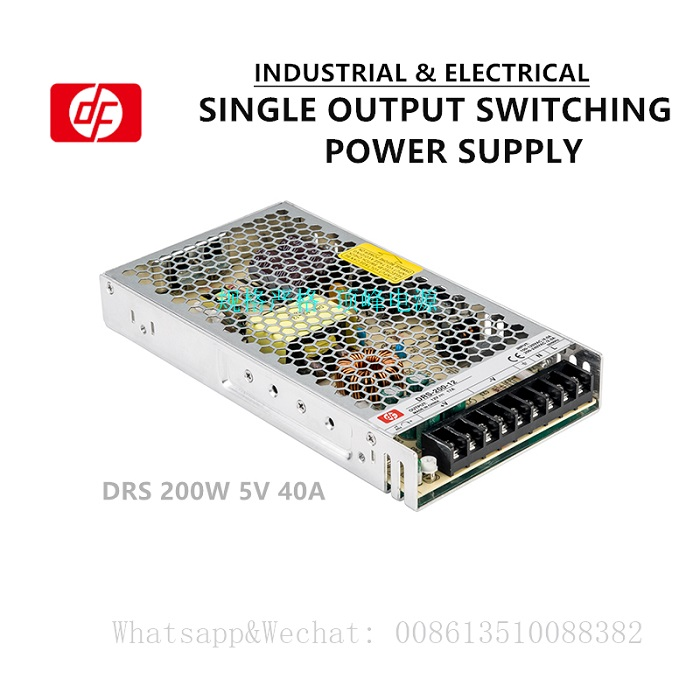 Slim indoor industrial model DRS-5V200W 40.0A